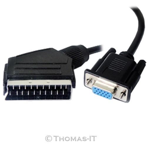 HDMI-S-VGA-DVI-D-Scart-RCA-DB9-Male-to-Female-Audio-Cable-1M-2M-2-5M-3M-5M-10M