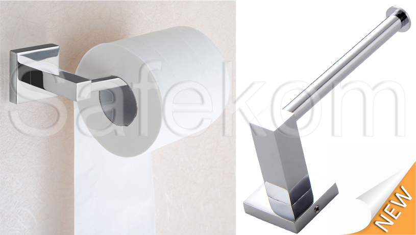 Bathroom tissue holder stand