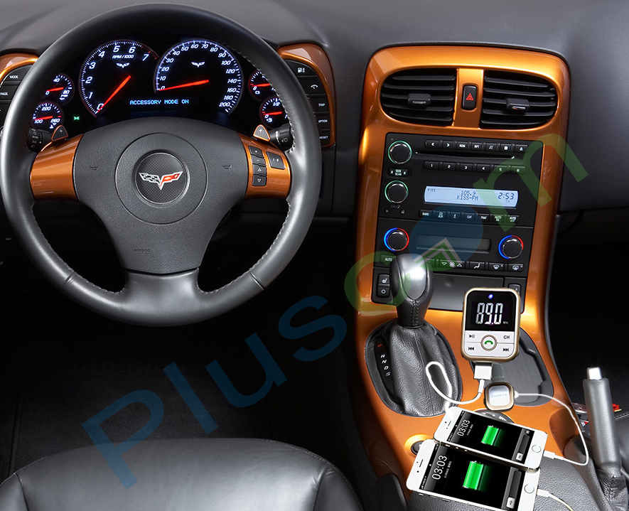 Wireless Bluetooth FM Transmitter MP3 Player SD USB Mobile Phone Charger Car Kit 15
