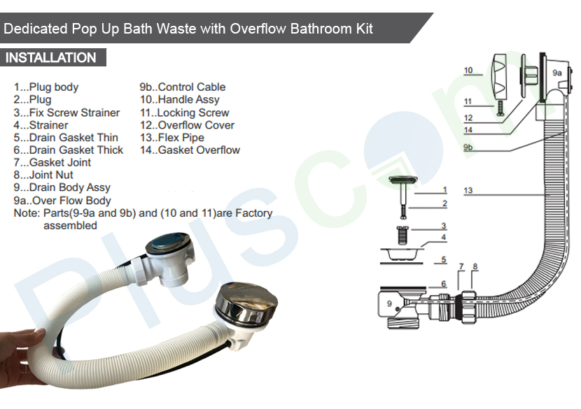 Modern kitchen bathroom sink pop up waste overflow pipe for A bathroom item that starts with g