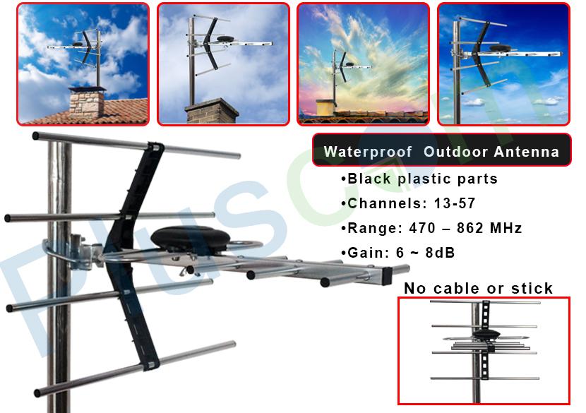 uhf aerial installation instructions