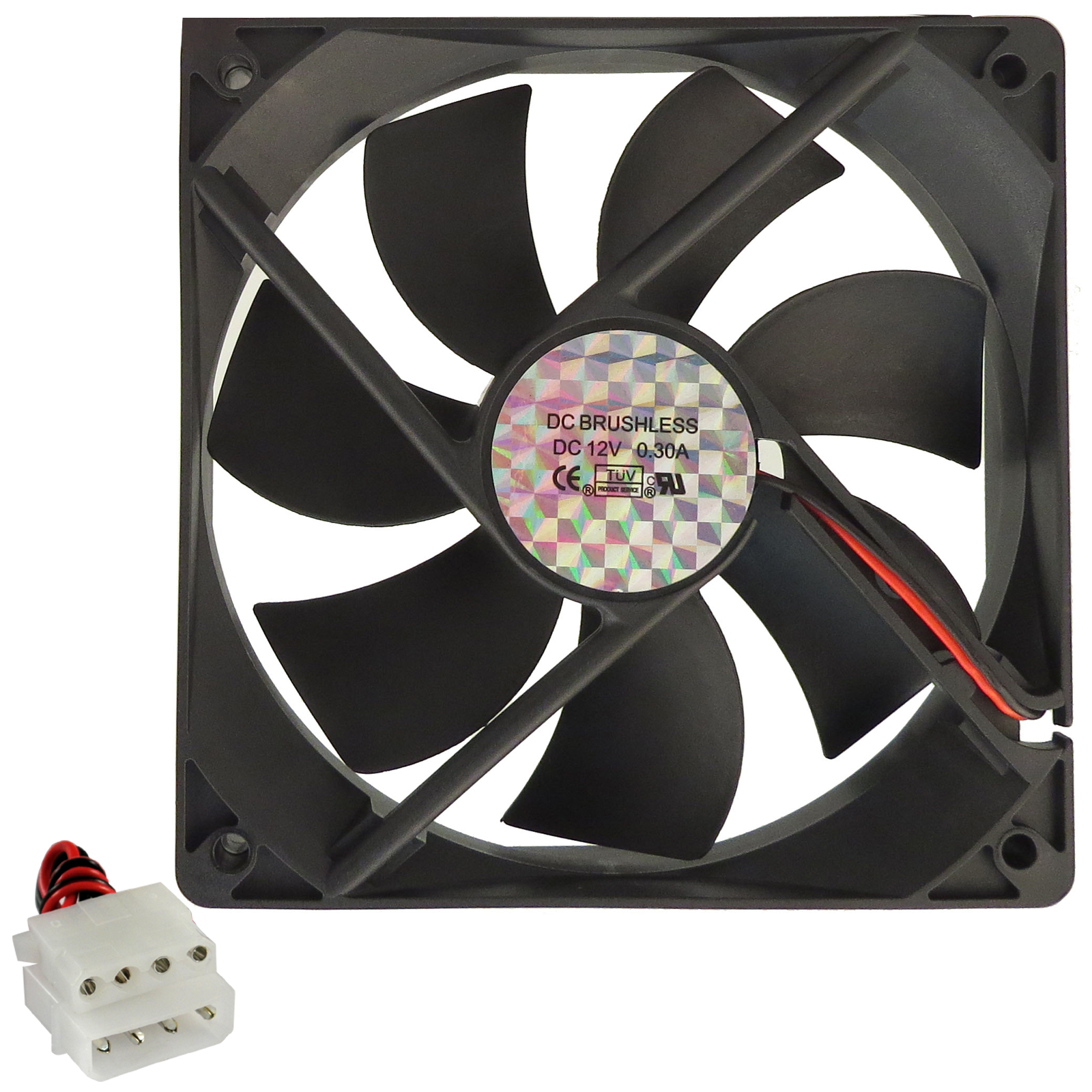 120mm-PC-Computer-Gaming-Chassis-Case-Quiet-Cooling-Fan