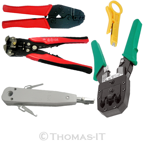 Network-Crimp-Electric-Terminal-Crimper-BNC-Crimping-Stripping-Punch-Tool-Plier