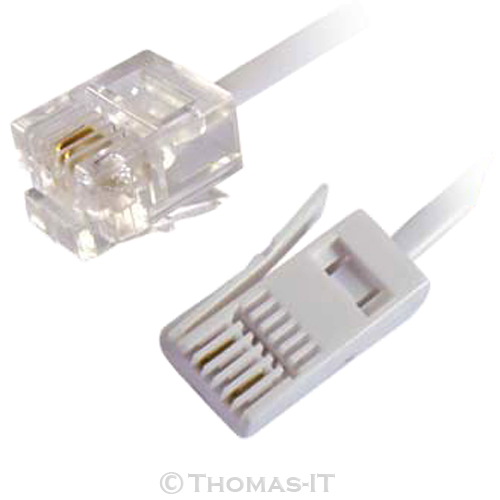 us rj11 to bt uk telephone fax phone cable broadband dsl ... apple ipod cable wiring diagram