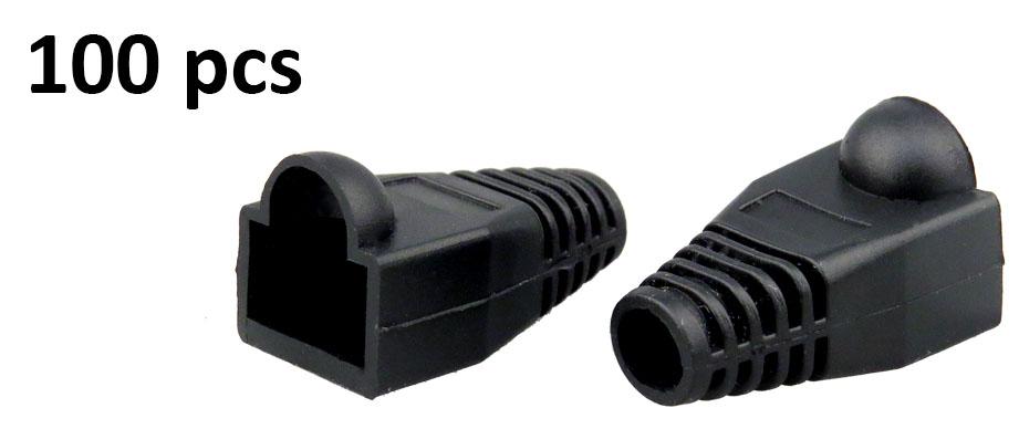 100x rj45 ethernet network lan cat5e cat6e cable end crimp. Black Bedroom Furniture Sets. Home Design Ideas